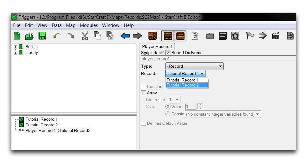 RECORDS — s2editor-tutorials 1 0 documentation